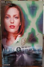 """The X Files SIDESHOW 12"""" DANA SCULLY Figure Gillian Anderson Autographed Autopsy"""