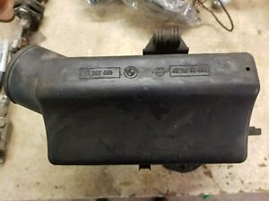 BMW E30 air cleaner and air flow meter assembly.