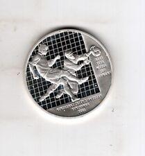 Ukraine 10 Hryven 2004, FIFA World Cup 2006, Fußball, 925er Silber Medaille