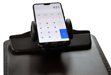 XL Klemmbrett mit Handy Halter Smartphone Halterung Schreibunterlage Clip Board