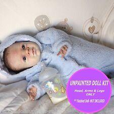 """Baby reborn doll kit """"Nikolas"""" ~ by Pat Moulton ~ Little cutie kit to make doll"""