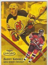 SCOTT GOMEZ CLASS 1 2000-01 TOPPS GOLD LABEL 61 SER #/399 NEW JERSEY DEVILS