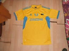 Rare Zanzibar National Team Adidas Soccer Jersey Youth Xlarge World Cup Fifa!