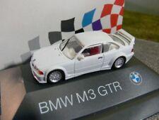 1/87 Herpa BMW M3 GTR E36 weiss PC-Box Sondermodell