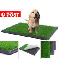 Indoor Dog Pet Potty Zoom Park Training Portable Mat Toilet Large Loo 64x51CM