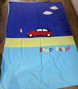 Boys Car Single Duvet Cover & Pillow Case