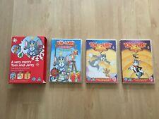 COMPLETE + Tom & Jerry Cartoon A Very Merry Christmas Xmas Box Set +3 DVD +BOXED