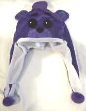 Five Nights at Freddy's Purple Fazbear Plush Laplander Beanie Hat-Brand New!