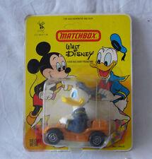 Matchbox- Walt Disney WD 2 Donald Duck - Orange  - Made in Macao - im Blister