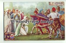su2177 - The Oxford Pageant - Legend of St Frideswide - postcard Tucks no 2783