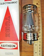 Strong NOS Tung-Sol labeled Raytheon 3 Mica CARBON Plate 6336A Tube