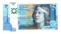 Vintage Banknote Scotland UNC 2016 Polymer 5 Pounds Sterling Pick 370