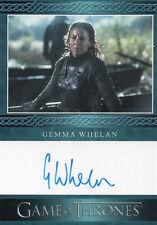 Game of Thrones Season 7, Gemma Whelan 'Yara Greyjoy' Autograph Card