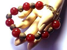 Handgefertigte Armbänder mit Achat-Edelsteinen