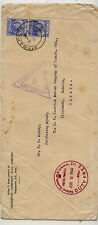 Straits  Settlements censor cover to Canada         MS0129