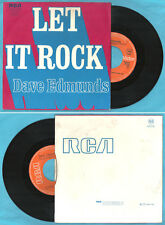 """FRENCH 7"""" DAVE EDMUNDS Let it rock RCA Victor 42515"""