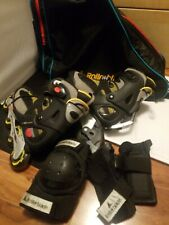 Rollerblade Men's Pro Alu 07 Inline Skates Training Us Size 8 with bag and guard