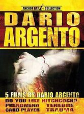 5 films by Dario Argento (DVD Anchor Bay Entertainment) NEW & SEALED