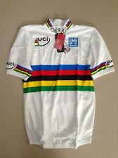 Santini UCI World Champion Men's Short Sleeve Cycling Jersey Size Large