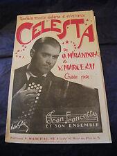 Partition Celesta Mirandola Marceau Jean Francelle Music Sheet