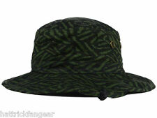 RVCA EDGECLIFFE JUNGLE SAFARI BOONIE BUCKET STYLE HAT/CAP
