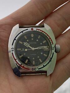 Vintage Soviet Vostok Amphibian ministerskie Ministers anti-magnetic watch 2416