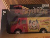 Pittsburgh Pirates 2015 WB Mason Truck collectible.