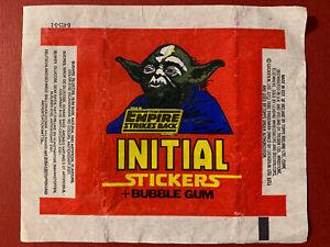 Topps Ireland 1980 - Star Wars Empire Strikes Back. Empty Gum Card Wax Wrapper