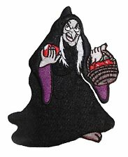 "Disney's Snow White Movie EVIL QUEEN WITCH 3 1/2"" Tall Iron-on/Sew-on PATCH"