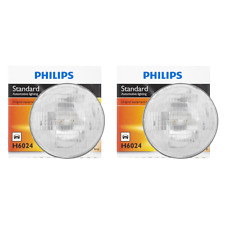 2 PCS Philips Headlight Bulb For 1960-1966 Abarth 1600 Hi/Lo Beam Lamp
