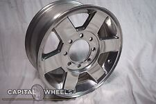 DODGE 1500 PICKUP 13-15 road wheel, 17x7, 6 SPOKE POLISHED WHEEL RIM 2383