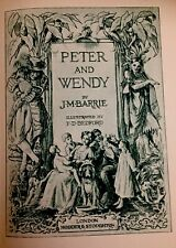 Peter and Wendy - J.M. Barrie - illustrated by F.D. Bedford