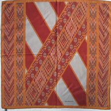 -Superbe Foulard  BALENCIAGA  100% soie  TBEG  vintage scarf  collector