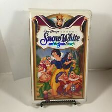 WALT DISNEY VHS Clamshell Case – Snow White and the Seven Dwarfs