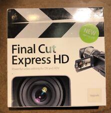Apple Final Cut Express HD 3.5 - Video Editing for DV HDV AVCHD - Upgrade