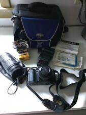 Minolta 5000 Maxxum Camera & Accessories untested (flash/lens/film/bag) (Used)