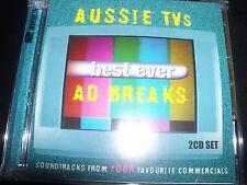Aussie Tv's Best Ever Ad Breaks Various 2 CD (Ted Mulray Gang Jimmy Barnes Blur)