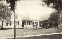 Rushford NY Weaver Residence c1910 Real Photo Postcard