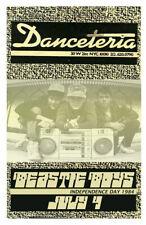 Beastie Boys Replica *Danceteria* 1984 Concert Poster