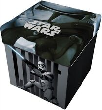 Taburete para guardarlas juguetes caja Toy Organizer Disney Star Wars