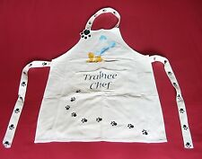 Cat Design Cotton Apron Trainee Chef Child's Christmas Gift NEW