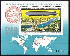 Hungary 1977 Airships/Zeppelin/Aviation 1v m/s (n29628)