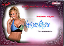 TNA Madison Rayne 2009 Knockouts Signature Curves SILVER Autograph Card