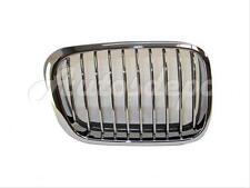 For 1999-2001 Bmw E46 323 325 328 330 Sedan Wgn Grille Chrome W/ Black Rubber Rh
