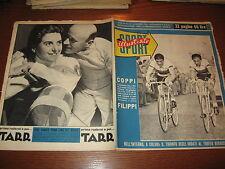 LO SPORT ILLUSTRATO GAZZETTA 1953/46 FAUSTO COPPI TROFEO BARACCHI MILAN JUVENTUS