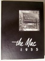 THE MAC 1955 ~ Macalester College Yearbook ~ St. Paul Minn. - D