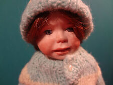 "Original Peace Doll ""Kelly"" by Helen McCook dated 1982"