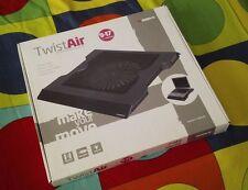 """Base de refrigeración B-Move Twist Air 9''-17"""" USB, con ventilador y LED nuevo"""