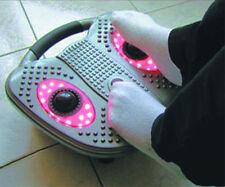 Fuß Massager, Klopfmassager mit Rotlicht, 3 Stufen Intervallprogramm, Fußmassage
