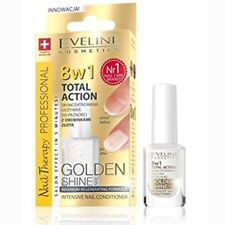 Eveline 8in1 Golden Shine Intensive Nail Conditioner Total Action 12ml 8 W 1